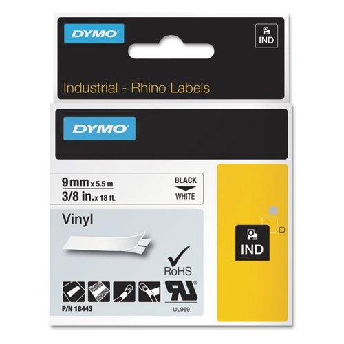 Label, Vinyl, Industrial, 3/8