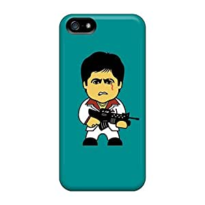 Iphone 5/5s Case Cover Skin : Premium High Quality Scarface Tony Montana Case