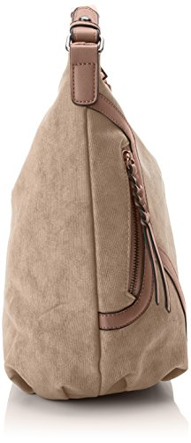 Taupe Brown Bag Leather Faux Hobo Shoulder SwankySwans Womens Bag Alia AzqOnx6wa