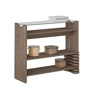 Artely Sonatta Console Table, Cinnamon - H 80.5 cm x W 100 cm x D 30.5 cm