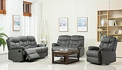 Amazon Com Container Furniture Direct S6035 3pc Albert Velvet