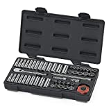 GEARWRENCH 80301 51 Piece 1/4-Inch Drive 12 Point Socket Set
