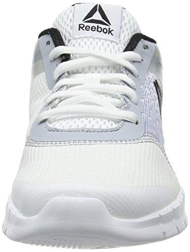 Instalite Grey white cloud black Blanco Reebok 000 Run Chaussures 5wqxgv6