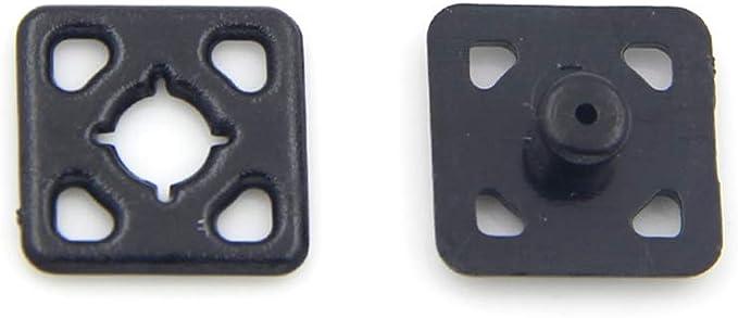 Nietknopf 8 * 6mm Bronze 20 St/ück runder Kopf Massivkupfernagel Nietknopf DIY Lederzubeh/ör