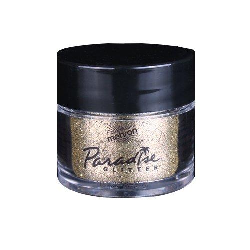 Mehron Paradise AQ Glitter 827 Gold .25 (0.25 Ounce Bar)