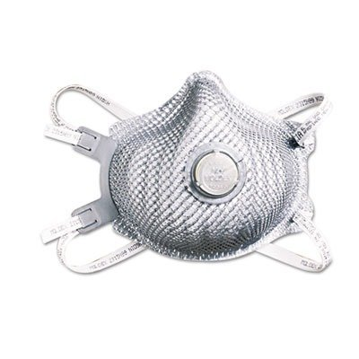Moldex 2315 N99 Particulate Respirator Mask with Adjustable Strap and Valve Box 10 Each