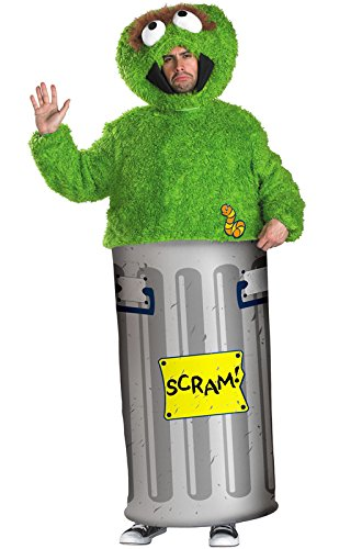 Oscar Sesame Street Costume (Sesame Street Oscar the Grouch Costume Adult)