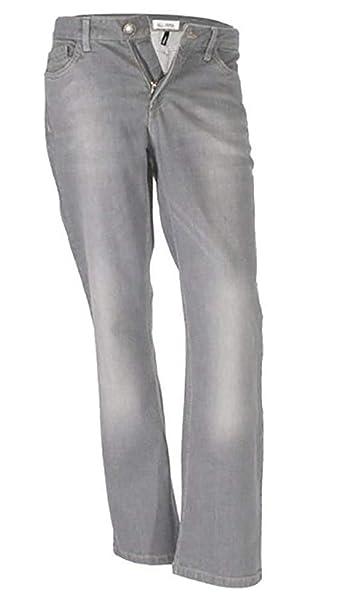 HIS Mujer Stretch - Pantalones Vaqueros Regular Fit ...