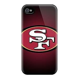 Cute Appearance Cover/tpu OAu2649QQqI San Francisco 49ers Case For Iphone 4/4s