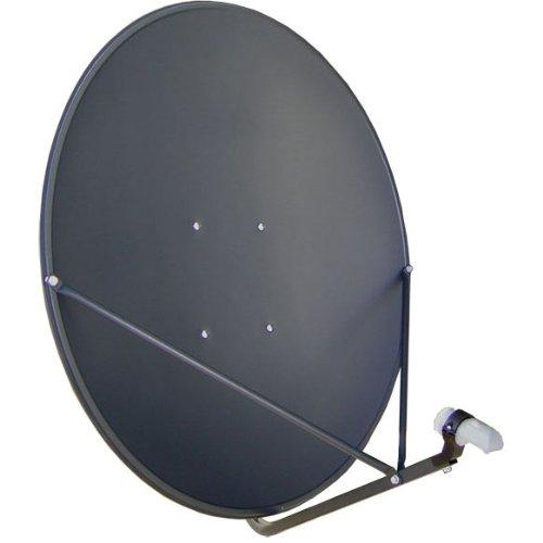 """GEOSATpro 36""""/90cm FTA Satellite Dish and .5dB NR SL1PLL Single Standard LNBF"""