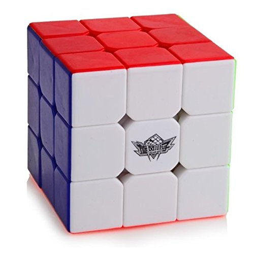 : D FantiX Cyclone Boys 3x3 Speed Cube Stickerless Magic Cube 3x3x3 Puzzles Toys (56mm)