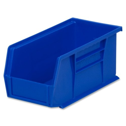 Akro Mils  Akrobins 30230B Containers   Blue  Pack  Of 12