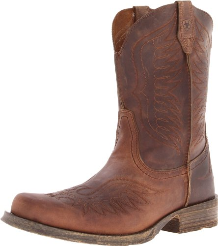 Ariat Men's Rambler Phoenix Western Cowboy Boot, Distressted Brown, 7 M US