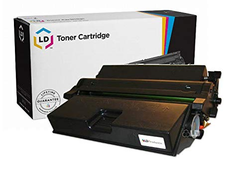 LD Remanufactured Toner Cartridge Replacement for Lexmark 63H2401 (Black)