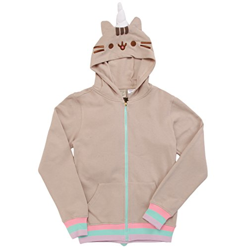 Pusheen Halloween Costume (Isaac Morris Pusheenicorn Costume Adult Zip Hoodie)