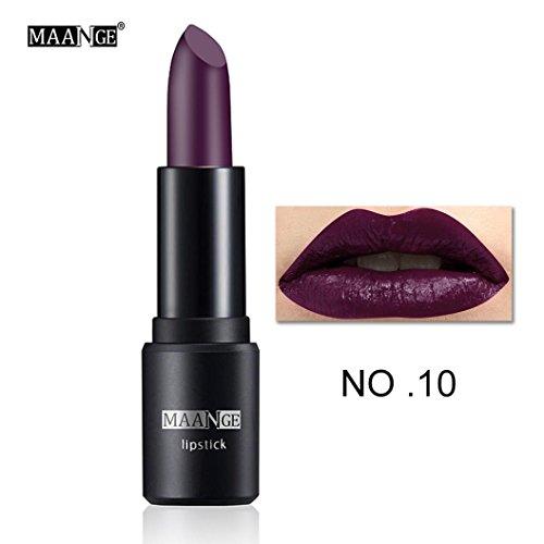 MAANGE 12 Colors Makeup Bright Moisturizing Lip Gloss