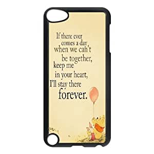 Cute Bear Winnie the Pooh Hard Plastic phone Case Cove FOR Ipod Touch 5 JWH9147638