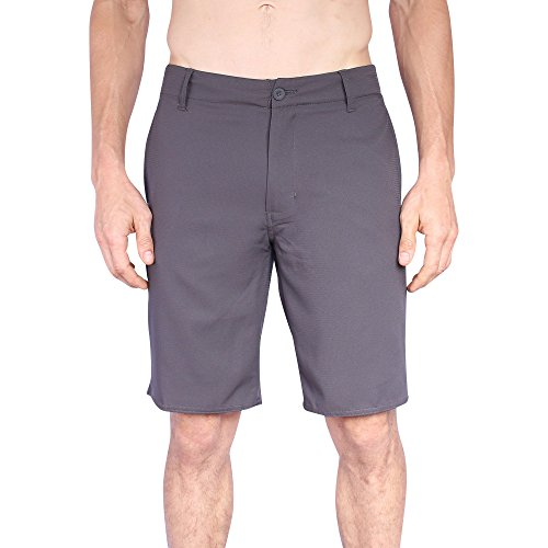 Mens Hybrid Short | Quick Dry Boardshorts Swim Trunk And Walk Shorts (Microfiber Hybrid Jacket)