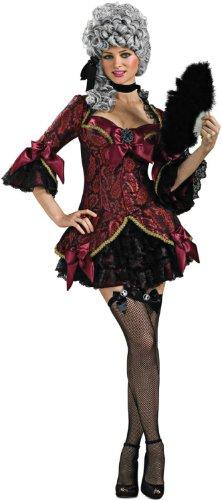 Secret Wishes Women's Lady Versailles Adult Costume, Multicolor, Medium