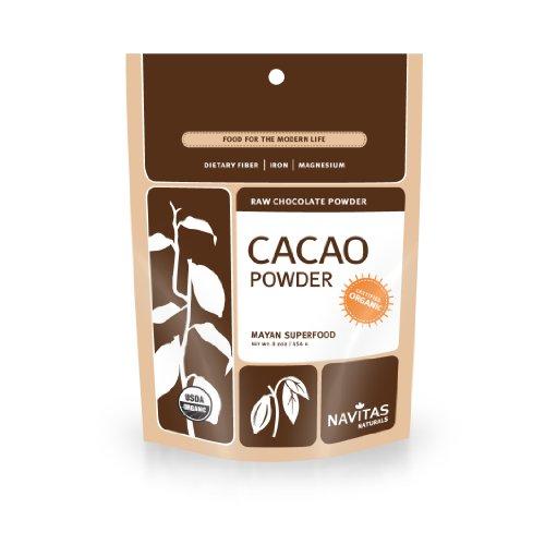 Navitas Naturals organique cacao cru, pochettes de 8 onces (Pack de 2)