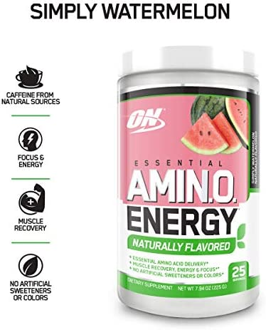 NUTRITION Naturally ESSENTIAL Watermelon Preworkout
