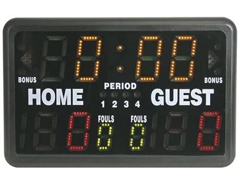 Panel marcador cronómetro para cualquier deporte: baloncesto, judo ...