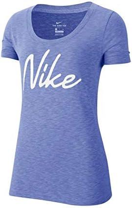 ウィメンズ DFCT スコープ ロゴ XD Tシャツ Tシャツ (CQ0259) (500)サファイア S