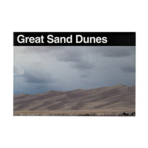 (CafePress Great Sand Dunes NP Rectangle Magnet Rectangle Magnet, 2