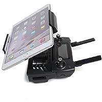 Hooshion 4-12 inch Phone Tablet Holder Remote Controller Extended Monitor Holder Bracket Bracket Mount for Quadcopter Mavic Pro Air for DJI Spark (Black)