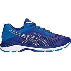 ASICS Men's GT-2000 6 Running Shoes, 8.5M, Blue Print/Race Blue