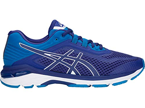 ASICS Men's GT-2000 6 Running Shoes, 14M, Blue Print/Race Blue