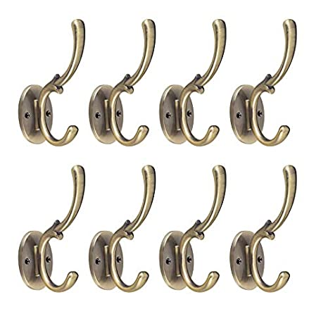 KTOL Retro Perchero De Pared MAX 15lb, 8 Pack Ganchos De ...