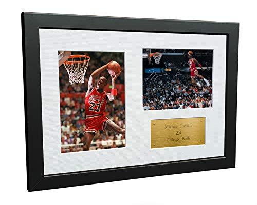 A4 Signed Michael Jordan Chicago Bulls