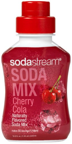 Sodastream Cherry Cola Sodamix Syrup Drink Mix 500ML