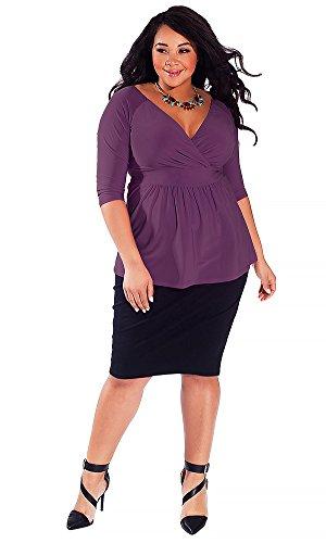 IGIGI Women's Plus Size Arabelle Top in Orchid 22/24