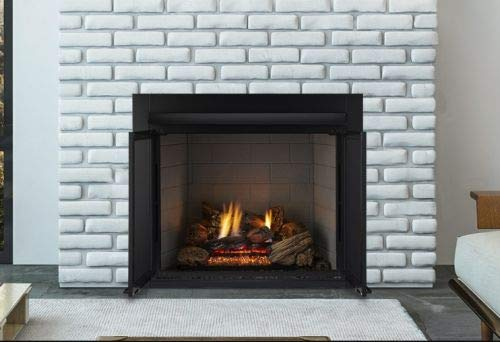 Monessen Lcuf32-r Lo-rider Series 32-inch Radiant Face Vent-free Firebox With Refractory Firebrick