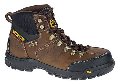 CAT FOOTWEAR P90935 11.0W Threshold Steel-Toe Electrical Hazard Boot, Leather Upper, Men's Size 11 Wide - Quantity 6