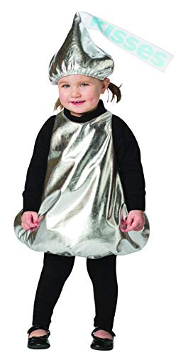 Hershey Kiss Halloween Costumes (Hershey Kiss Costume Kids Hershey's Chocolate Kisses Candy Child Size 12-24)