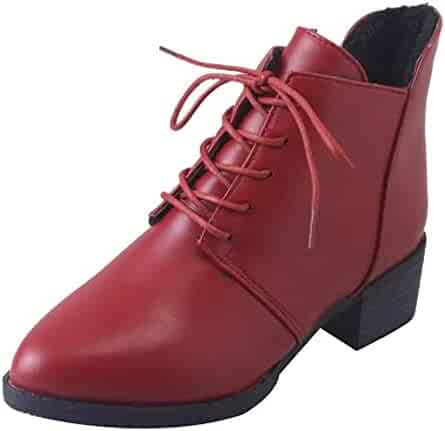 6516f2e89f521 Shopping Red - Ankle & Bootie - Boots - Shoes - Women - Clothing ...