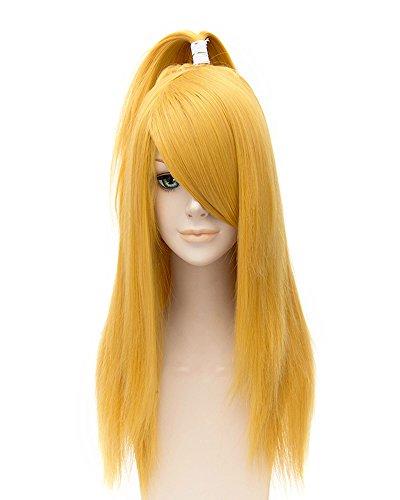 Deidara Akatsuki Costume (Tsnomore Straight Blonde Cosplay Naruto Akatsuki Deidara Wig)