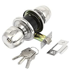 Aexit bedroom bathroom cabinet hardware round door knobs - Bedroom door knobs with key lock ...