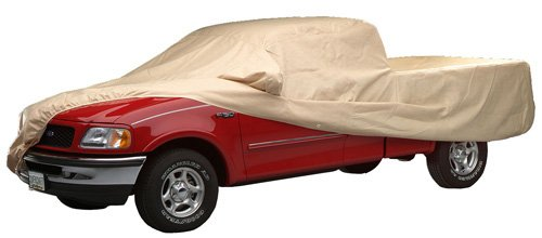 (Covercraft C80015 Ready-Fit Technalon Car Cover for Long Bed Truck )
