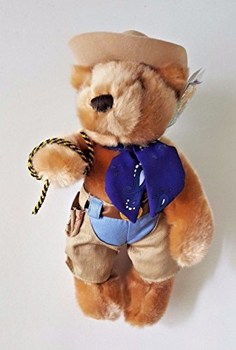 AMERICAN TRAVEL COLLECTION RODEO COWBOY TEDDY BEAR w/ HAT 10