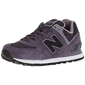 New Balance Women's 574v1 Sneaker, Elderberry/Strata, 55 B US