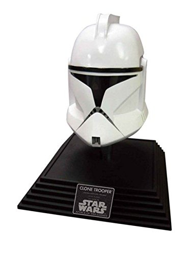 Rubie's Men's Star Wars 2 Clone Trooper Collectible Mask Helmet, Multi, One Size