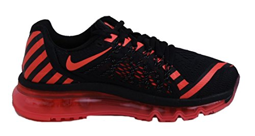 Nike Air Max 2015 Nr Womens Black/Hot Lava/Dark Grey free shipping newest sale manchester great sale JNoLi