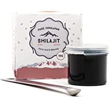 Altai Shilajit, 100 Servings, Natural Source of Fulvic Acid & Trace Minerals, 100% Pure