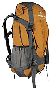 TETON Sports Canyon 2100 Backpack Perfect for Beginner Canyoneers; For Hiking, Camping, Backpacking, Hunting and Outdoor Sports; Free Dry Bag and Rain Cover Included