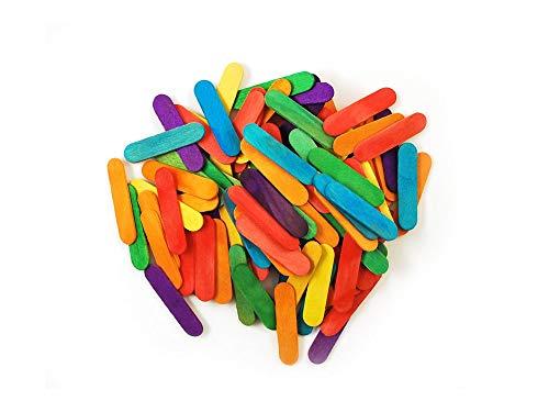 Mini Craft Sticks-Colored 1.5'' 120/Pkg (Вundlе оf Fоur) by Multicraft Imports (Image #1)