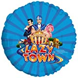 1 BALLOON foil LAZYTOWN GROUP party FAVORS decoration GIFT